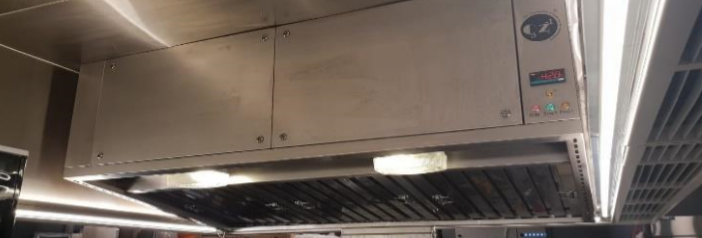 2m Hybrid Hood System installed at iSteak at Tampines One