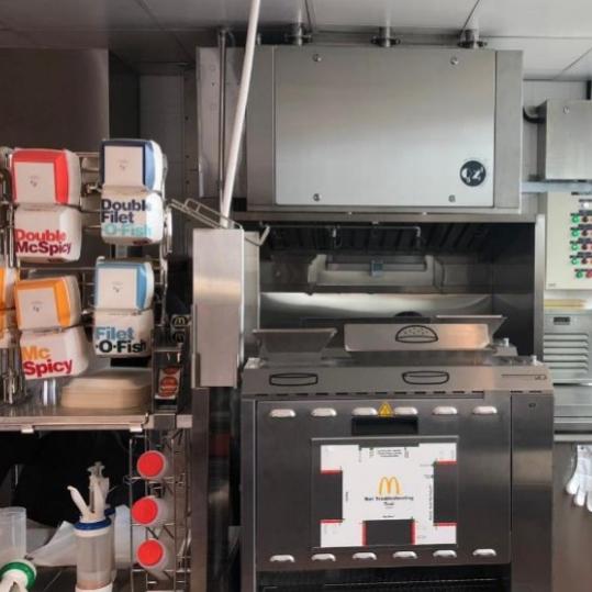 Fusion Hood System Testing at Macdonalds