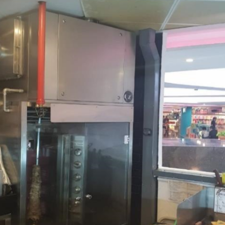 Fusion Hood System installed at Stuff'D (Changi Airport T3)